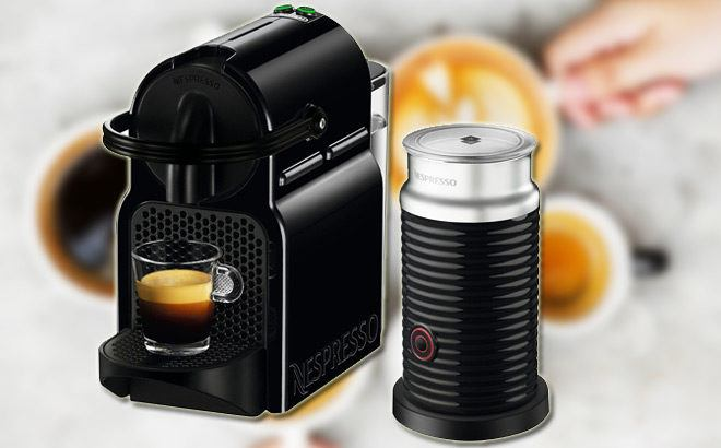 Nespresso Inissia Espresso Machine with Milk Frother $99 + FREE Shipping (Reg $200)