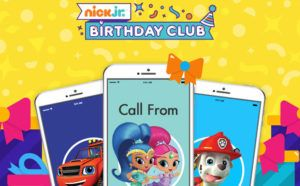 FREE Personalized Birthday Phone Call Greeting from a Nickelodeon Character!