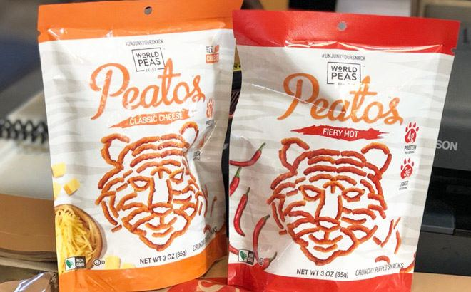 FREE Peatos Snack Bag (Up to $2.99 Value) – Print Your Coupon Now!