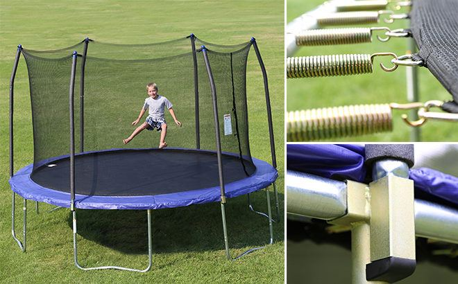 Skywalker 14-Foot Trampoline With Wind Stakes Only $215 (Reg $449) + FREE Shipping