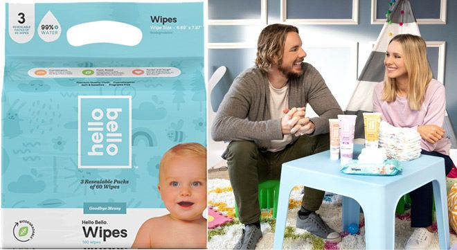 FREE Hello Bello Baby Wipes 360-Count + FREE Pickup (New TCB Members Only)