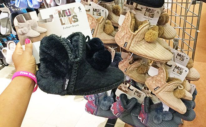 Muk Luks Women's Slippers as Low as $13 (Regularly $40) - Choose From 5 Colors!