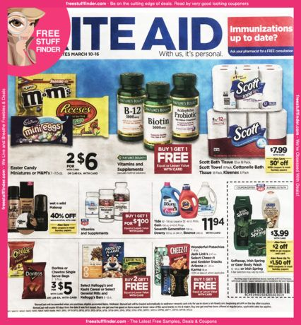 *HOT* Rite Aid Ad Preview (Week 3/10 – 3/16)