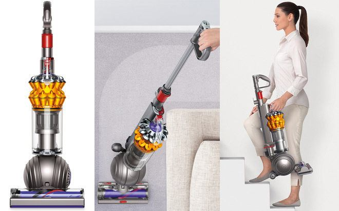 Dyson Small Ball Multi Floor Bagless Upright Vacuum for $249 (Reg $400) + FREE Shipping