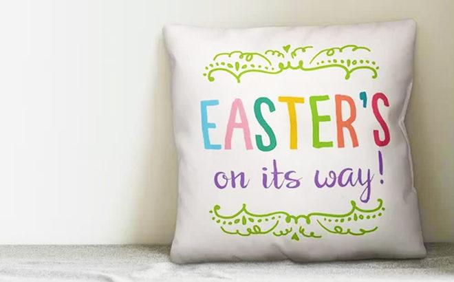 Easter Decor Sale Up to 70% Off (Pillows, Sculptures, Flowers & More) From JUST $16!