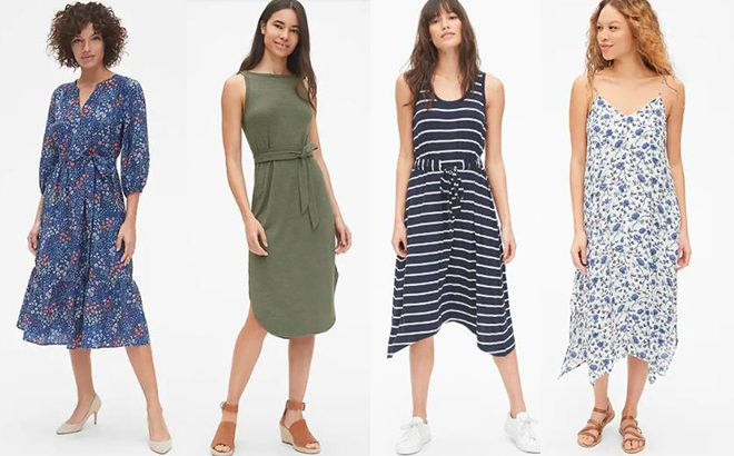 Gap Dresses 50% Off, Starting at JUST $19.97 (Regularly $50) - Today Only!