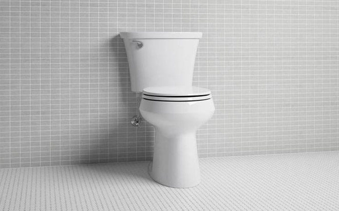 Kohler Comfort Heigh Toilet ONLY $74.50 (Reg $149) at Lowe's.com