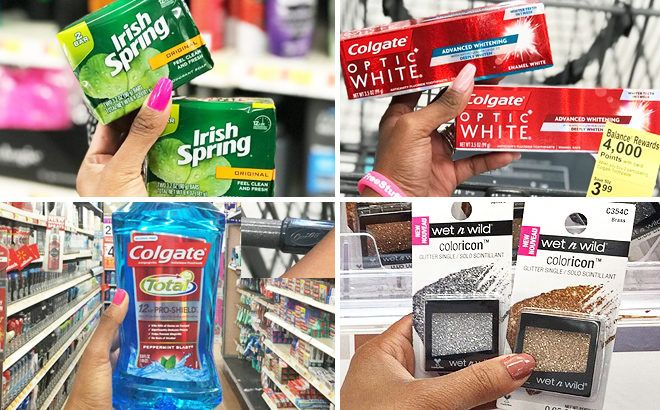 5 Freebies From Today: Cosmetics, Candy, Mouthwash, Toothpaste, & Irish Spring Soap