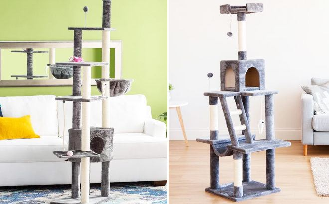 RUN! Up to 70% Off Cat Trees, Scratchers & Accessories Sale (Starting at Only $16!)