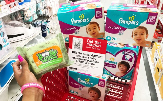 FREE $20 Gift Card with $100 Baby Department Purchase This Week at Target