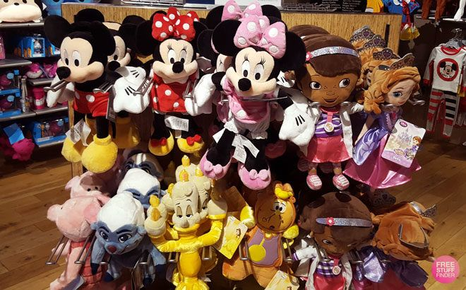 Disney Plush & Toys Starting at ONLY $1.99 - Hundreds of Cute Toys!