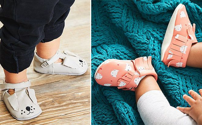 Up To 80% Off Leather Baby Booties at Zulily (Starting at Only $6.79) - Many Cute Styles!