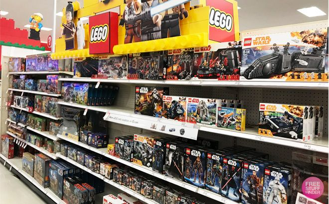FREE $10 Gift Card with Any $50 LEGO Set Purchase This Week at Target