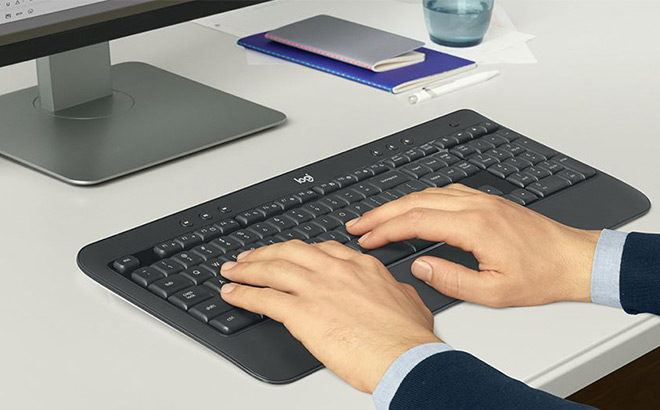 Logitech Wireless Keyboard & Mouse Set for ONLY $29.99 + FREE Shipping (Reg $60)