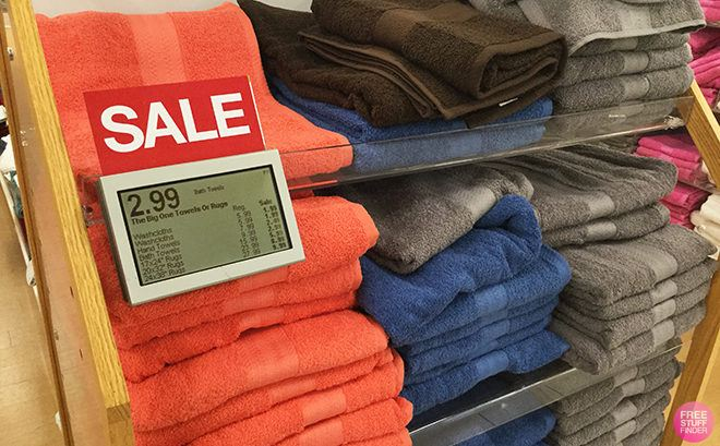 The Big One Towels Starting From JUST $2.39 (Regularly $6) + FREE Store Pickup at Kohl's