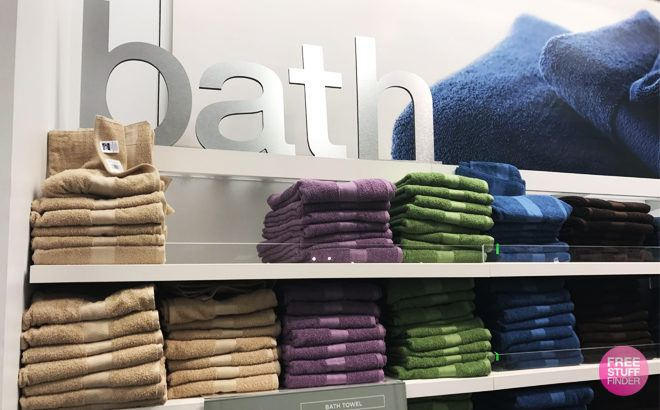The Big One Bath Towel 12-Pack ONLY $24.49 at Kohl's (Reg $90) - That's $2.04 per Towel!