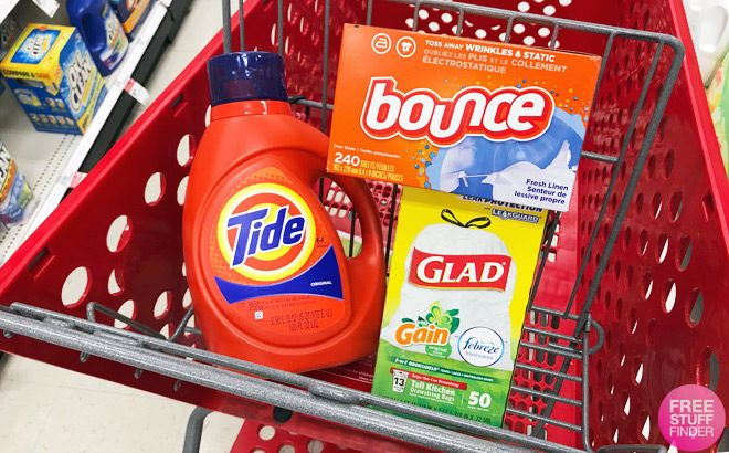 Laundry Related Product Deals This Week (3/31 – 4/6) Save on Tide, Bounce, Downy