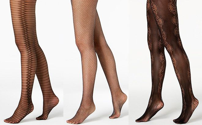 Women's Patterned Tights Only $5 (Reg $15)