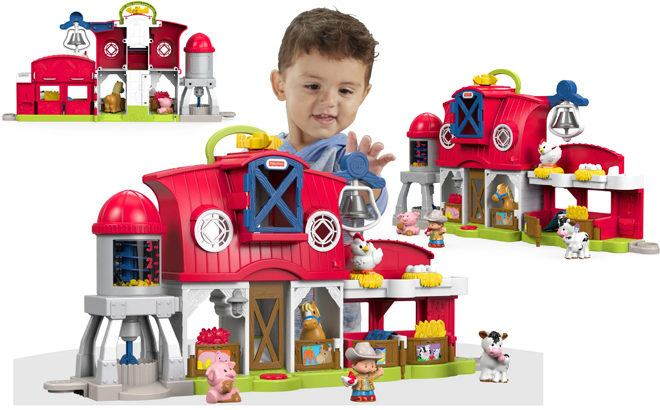 Fisher-Price Little People Caring for Animals Farm JUST $18 (Reg $40) + FREE Pickup