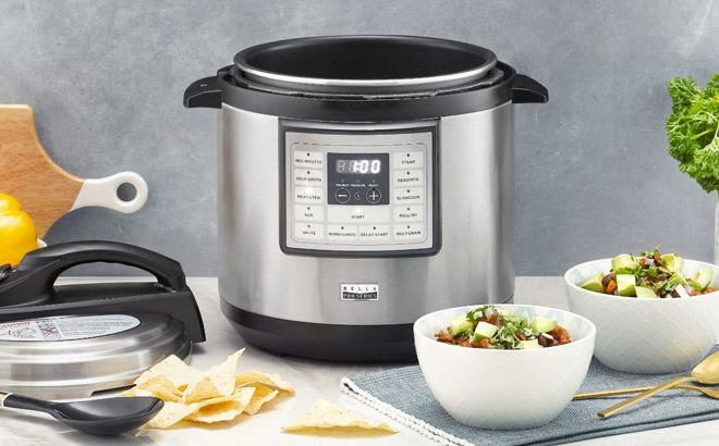 Bella Pro Series 8-Quart Digital Multi-Cooker JUST $39.99 + FREE Shipping (Reg $100)
