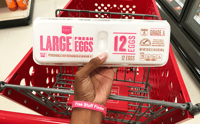 FREE One Dozen Eggs at Walmart or Target (Up to $2 50 Value