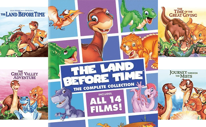 Land Before Time: The Complete Collection on DVD ONLY $15.99 (Regularly $60)