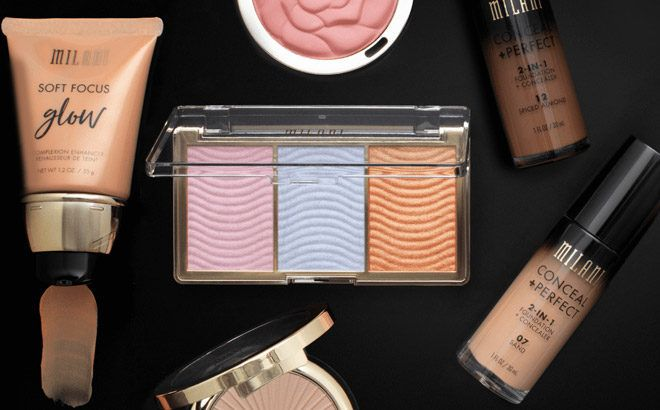 Milani Concealer Cream & Highlighter Palette ONLY $5.99 + FREE Shipping