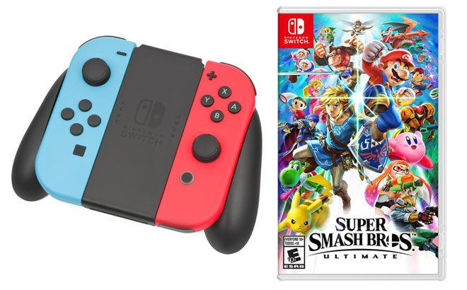 Super Smash Bros Ultimate Nintendo Switch ONLY $49.89 + FREE Shipping (Reg $60)