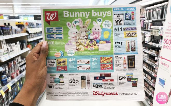 Walgreens Weekly Matchup for Freebies & Deals This Week (4/21 - 4/27)