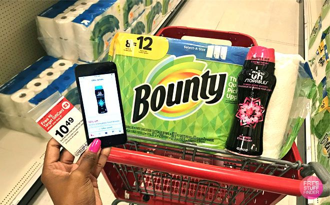 Bounty Paper Towels 8-Pack JUST $5.86 at Target - ONLY 73¢ per Giant Roll!