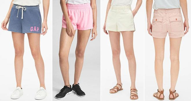 Gap Men's and Women's Shorts & Swimwear Starting at ONLY $16 - Don't Miss Out!