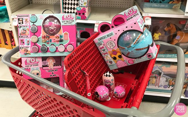 L O L Surprise Glitter Factory Neon Kitty Sets Only 24 99 Each