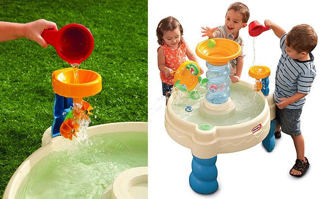 Little Tikes Waterpark Play Table Only 29 99 Free