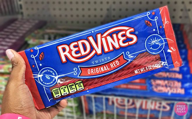 Red Vines Twists Original Red Licorice Candy JUST 54¢ at Target (Regularly $1.29)