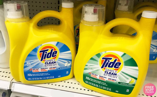 FREE Tide Simply Detergent + FREE Pickup (New TCB Members) - HUGE Bottle!