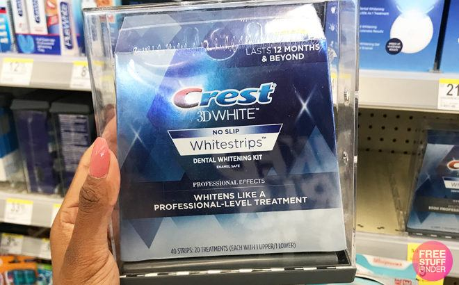 Free 10 Walmart Gift Cards With Crest 3d Whitestrips Purchase From 34 88
