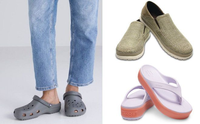 Up to 44% Off Crocs Footwear for the Family (Prices Starting at JUST $16.79!)
