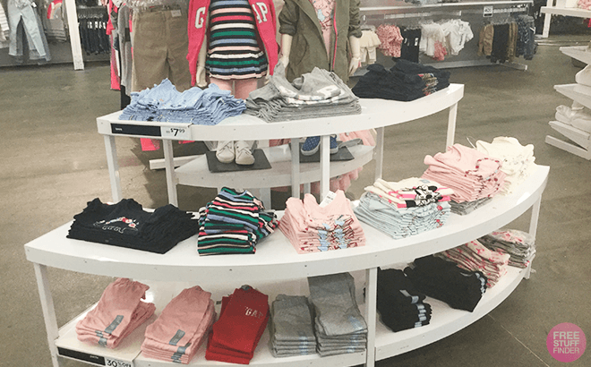 Up to 80% Off Gap Apparel and Accessories for the Family - Tops Starting at ONLY $4.94