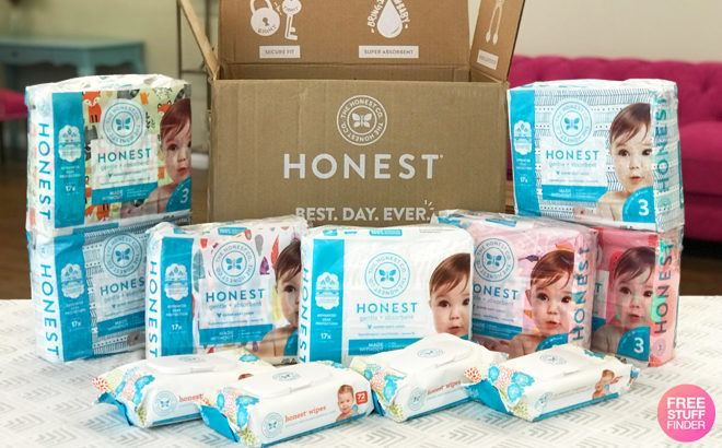 HURRY! $49.95 for $117 Worth of Diapers & Wipes + FREE Shipping ($4.54 Diaper Packs!)