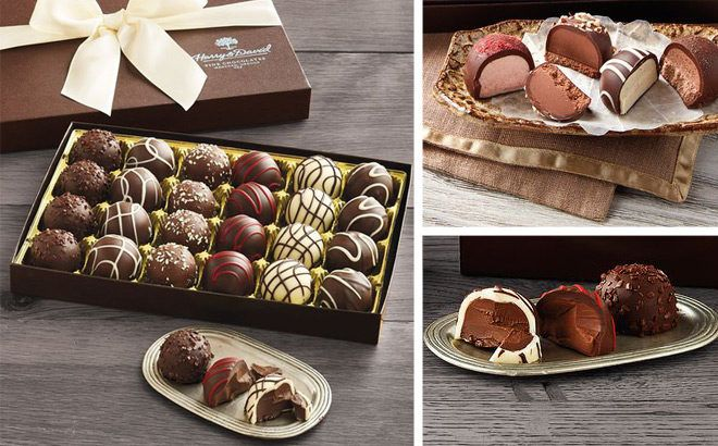 Harry & David 24-Piece Chocolate Truffles ONLY $19.99 + FREE Shipping (Regularly $35)
