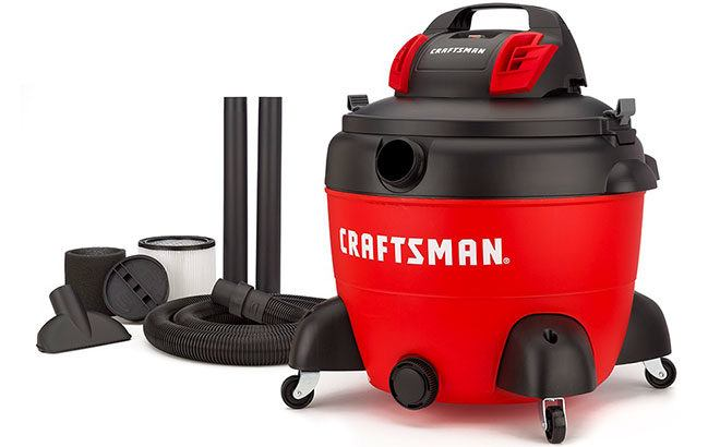 Craftsman Shop Vacuum ONLY $49.98 (Regularly $100) at Lowe's + FREE Shipping