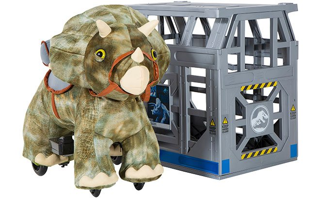 Aurora Monkey Stuffed Animal, Jurassic World 6v Triceratops Plush Ride On Only 79 At Walmart Regularly 149