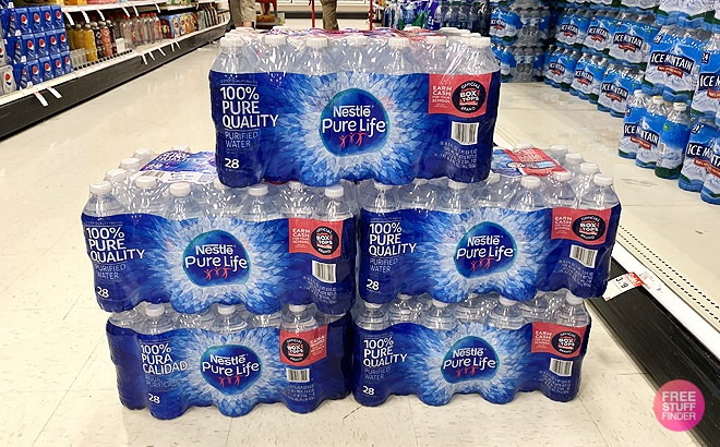 Target: Nestle Pure Life Bottled Water 28-Pack JUST $2 Each