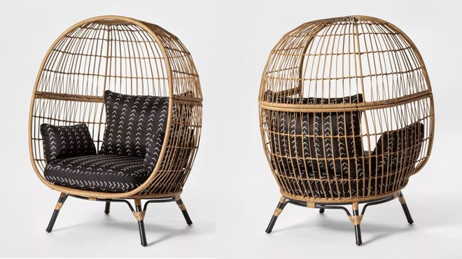Fine Opalhouse Southport Patio Egg Chair For Only 279 99 At Unemploymentrelief Wooden Chair Designs For Living Room Unemploymentrelieforg