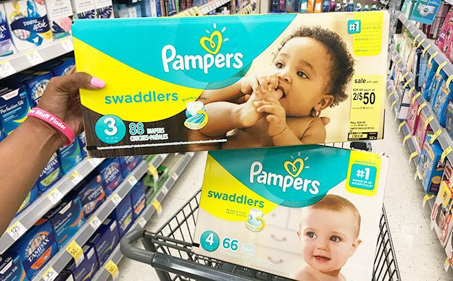 Pampers Boxed Diapers ONLY $12 (Reg $30) at Walgreens - No Coupons Needed!