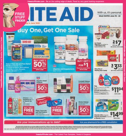 *HOT* Rite Aid Ad Preview (Week 6/16 – 6/22)