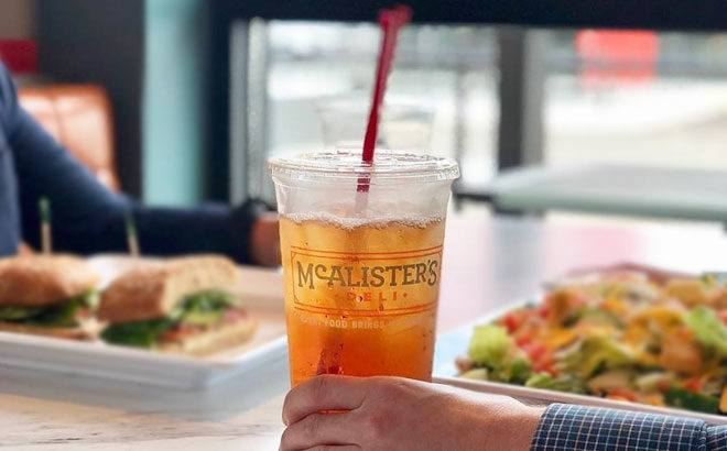 FREE Sweet Iced Tea at McAlister's Deli (Today Only) - No Purchase Needed!