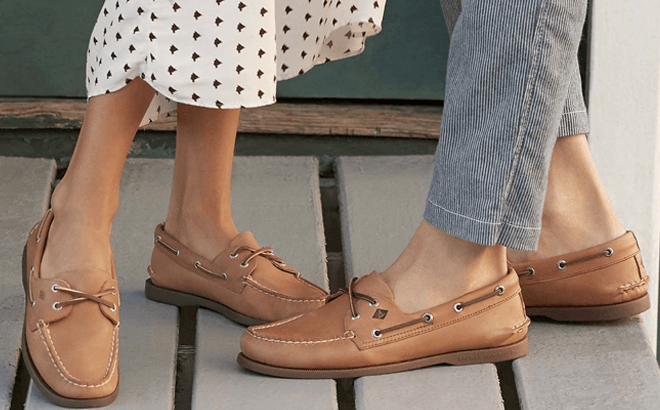 Sperry Men S Women S Boat Shoes For Only 44 99 Free