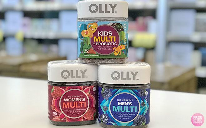 Olly Vitamins for ONLY $5.99 at Walgreens (Regularly $15) - Just Use Your Phone!
