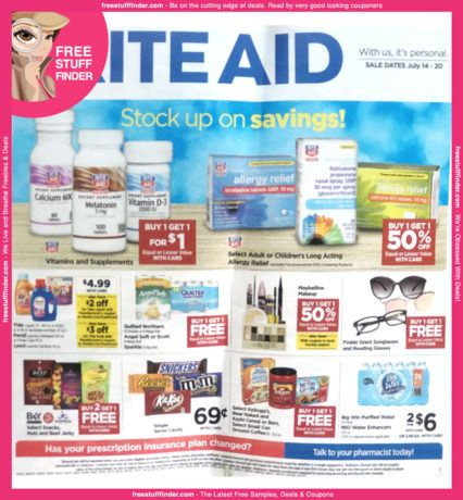 *HOT* Rite Aid Ad Preview (Week 7/14 – 7/20)